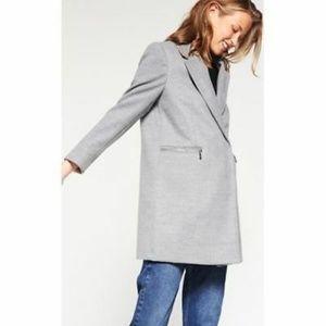 Topshop Wool Coat Petite Size 4